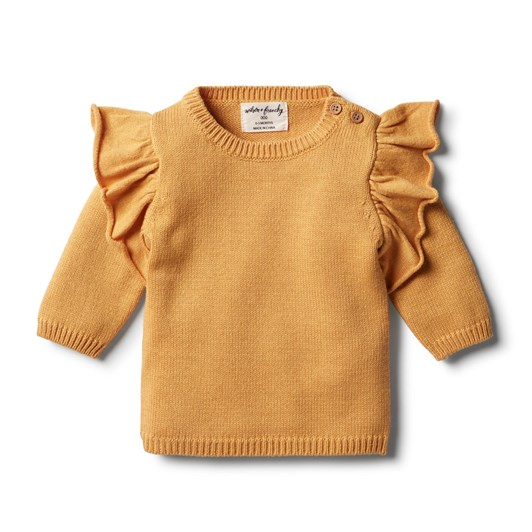 Wilson And Frenchy Knitted Ruffle Jumper
