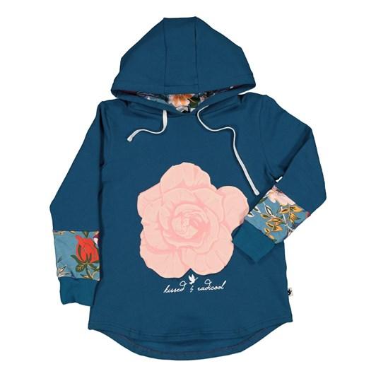 Kissed Winter Rose Hood