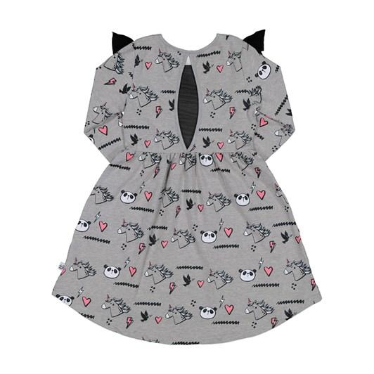 Kissed By Radicool Unicorn Panda High-Life Dress