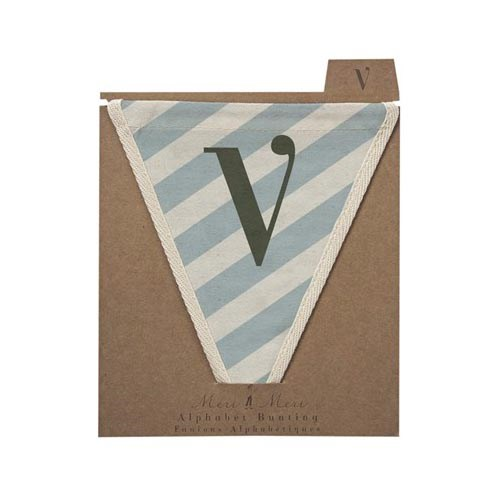 Oxted Diagonal Stripe V Pennant