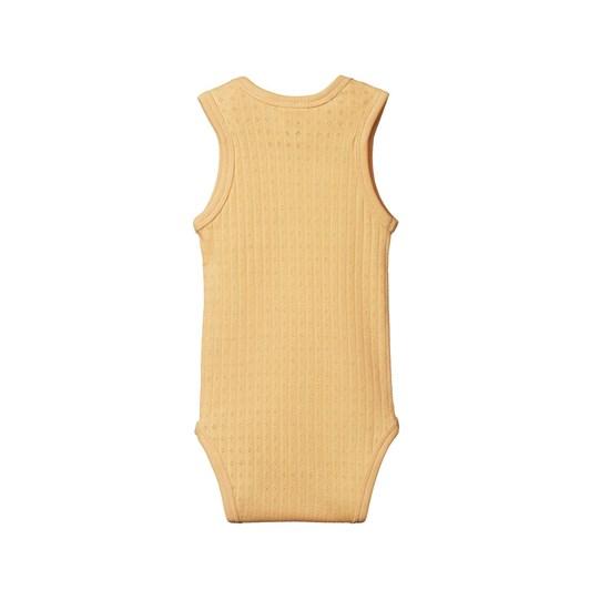 Nature Baby Singlet Bodysuit Pointelle