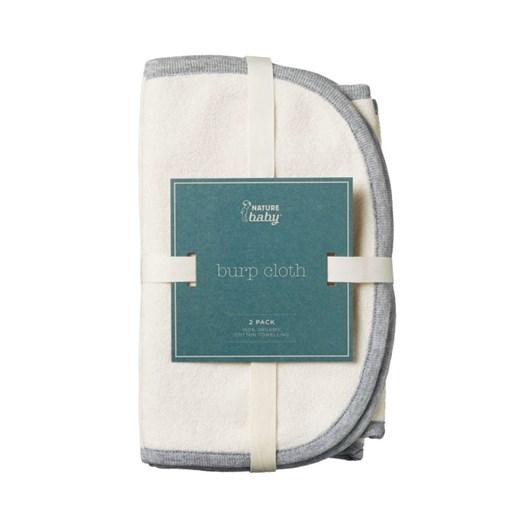 Nature Baby Burp Cloth 2 Pack