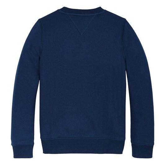 Tommy Hilfiger Multi Badge Velcro Sweatshirt 10-16Y
