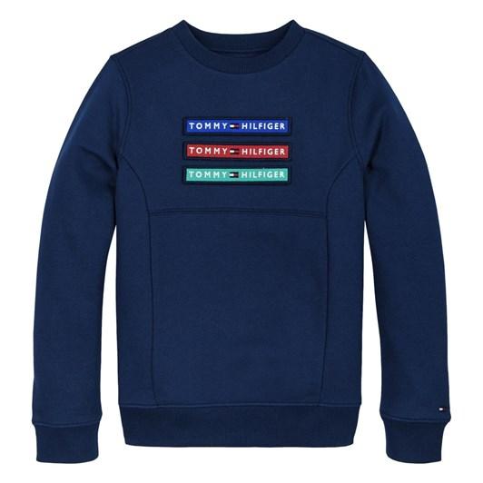 Tommy Hilfiger Multi Badge Velcro Sweatshirt 3-8Y
