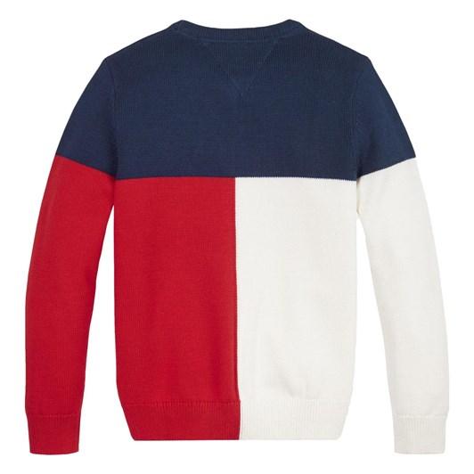 Tommy Hilfiger Hilfiger Colorblock Sweater 10-16Y