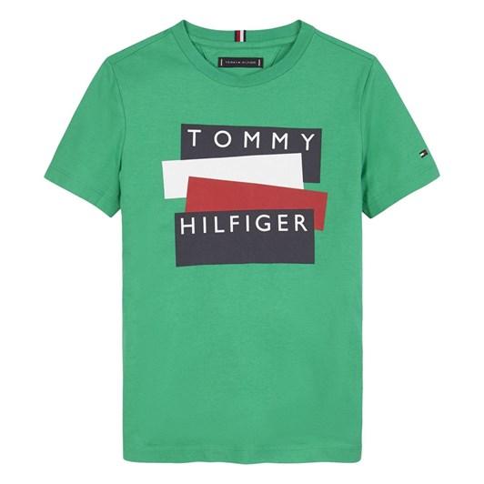 Tommy Hilfiger Tommy Hilfiger Sticker Tee S/S 3-8Y