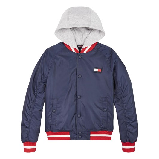 Tommy Hilfiger Padded Hooded Bomber 10-16Y