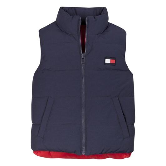 Tommy Hilfiger Colorblock Reversible Vest 10-16Y