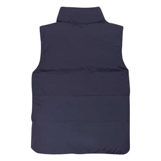 Tommy Hilfiger Colorblock Reversible Vest 3-8Y