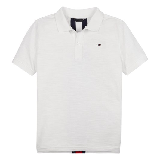 Tommy Hilfiger Back Insert Polo S/S 10-16Y