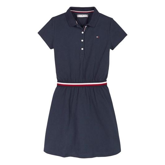 Tommy Hilfiger Global Stripe  Polo Dress S/S 3-8Y