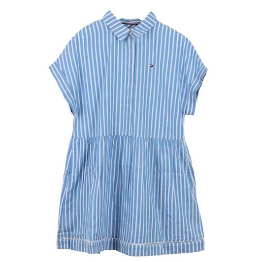 Tommy Hilfiger Ladder Lace Shirt Dress S/S 10-16Y