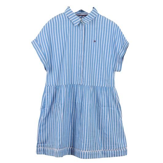 Tommy Hilfiger Ladder Lace Shirt Dress S/S 3-8Y