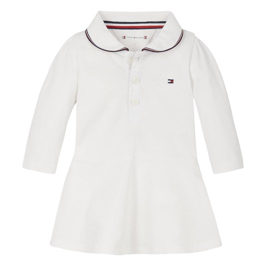 Tommy Hilfiger Baby Polo Dress L/S 0M-2Y