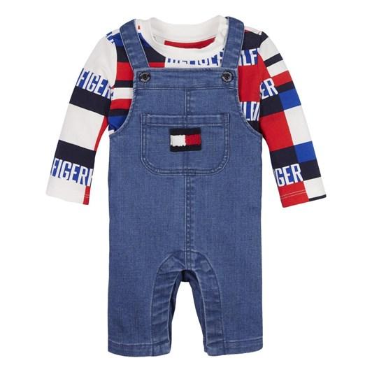 Tommy Hilfiger Baby Boy Dungaree Set 0M-2Y