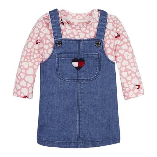Tommy Hilfiger Baby Girl Dungaree Set 0M-2Y
