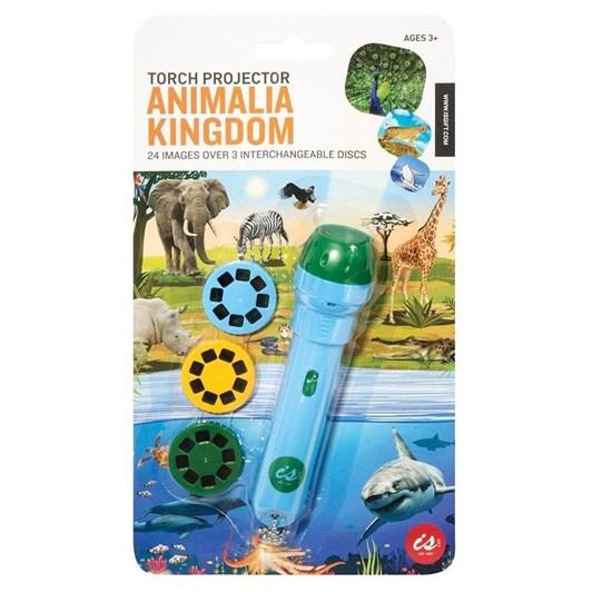Is Gift Torch Projector - Animalia Kingdom