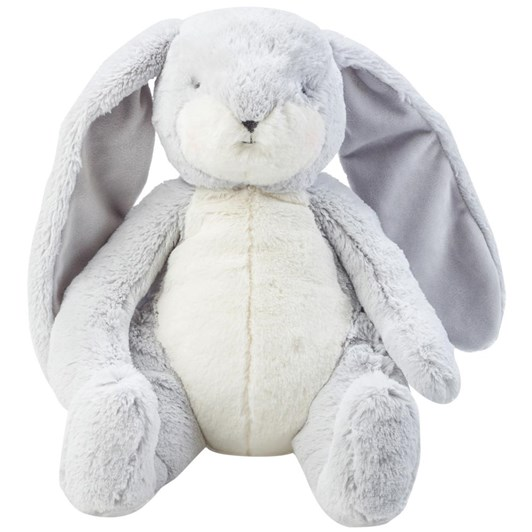 Bunnies By The Bay Sweet Nibble Bunny Grey Large
