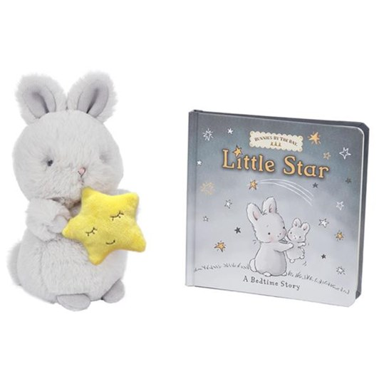 Bunnies By The Bay Cricket Island & Little Star Book & Bloom Plush