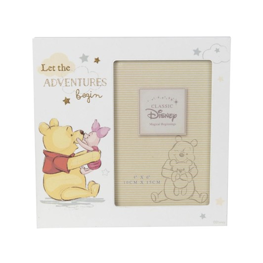 Disney Gift Collections Pooh - Frame 4X6 'Let The Adventures Begin'