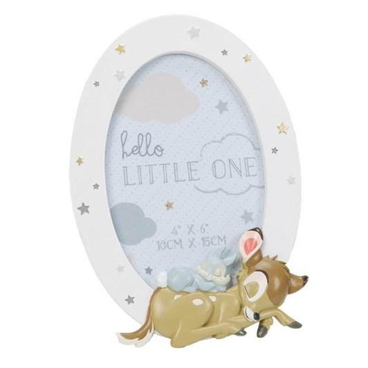 Disney Gift Collections Bambi - Round Resin Frame Bambi & Thumper