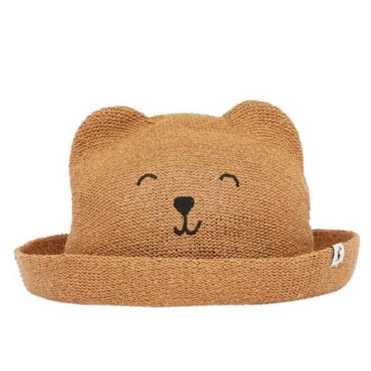 Joules Ashton Straw Animal Hat