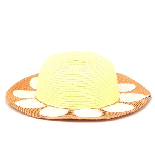 Joules Petal Straw Daisy Hat