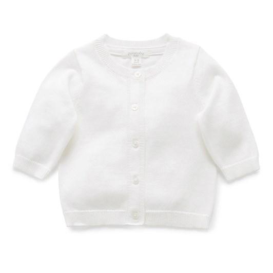 Purebaby 100% Org Cotton Basic Cardi