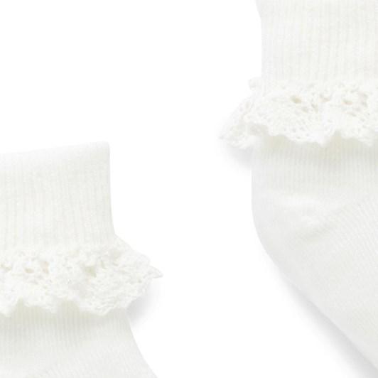Purebaby Lace Sock