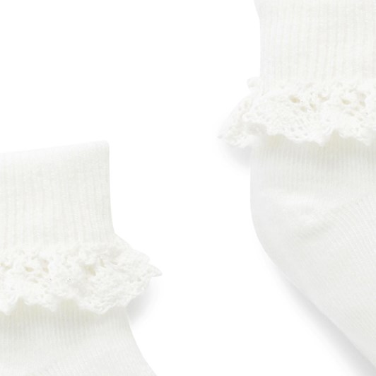 Purebaby Lace Sock
