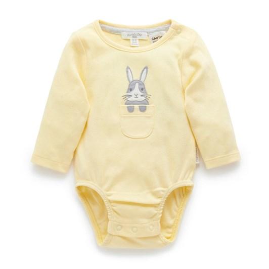 Purebaby Peekaboo Bunny Bodysuit