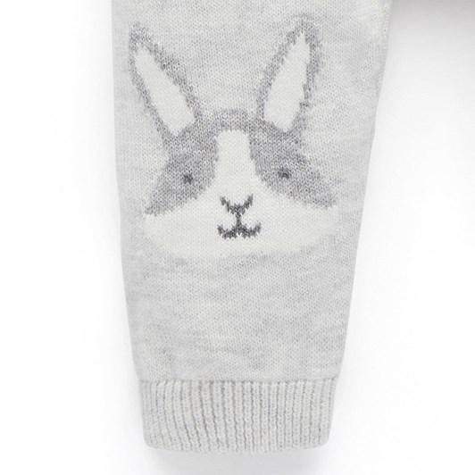 Purebaby Bunny Knit Legging