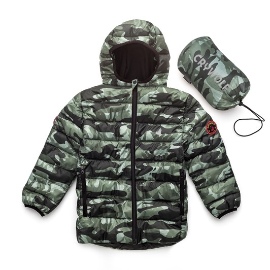 Crywolf Ecco Puffer Jacket 9-10 Years