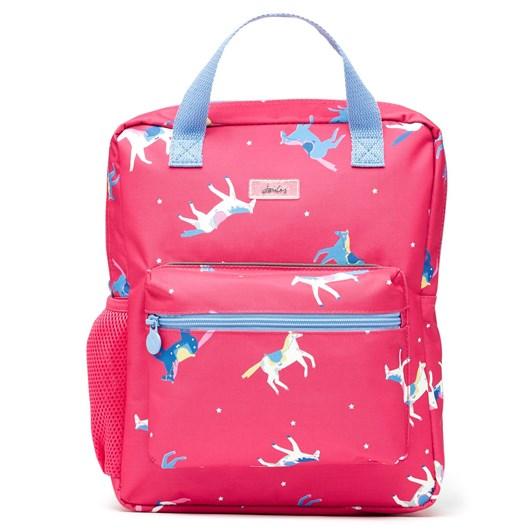Joules Easton Pink Horses Bag