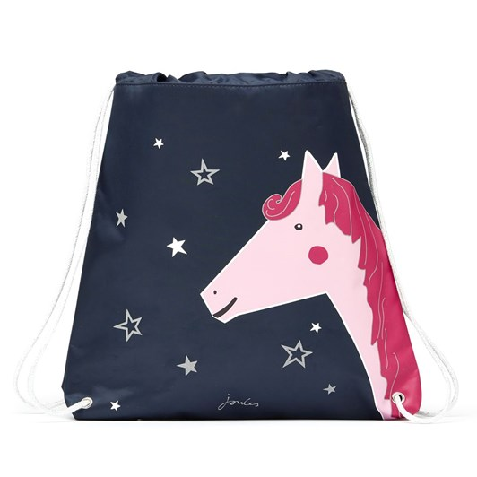 Joules Active Navy Horse Bag