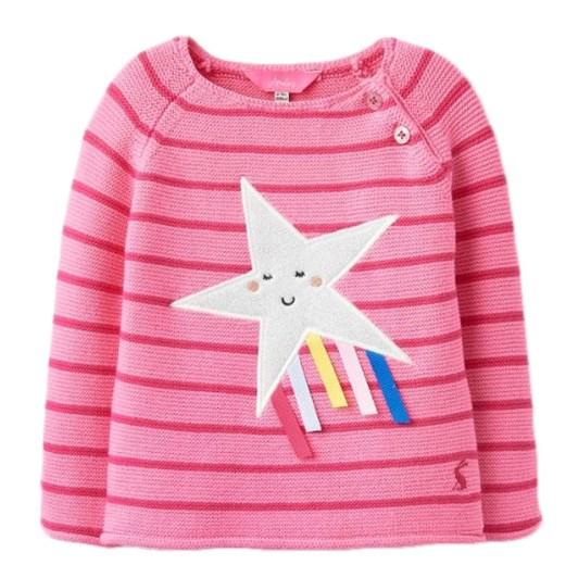 Joules Winnie Pink Shooting Star Top