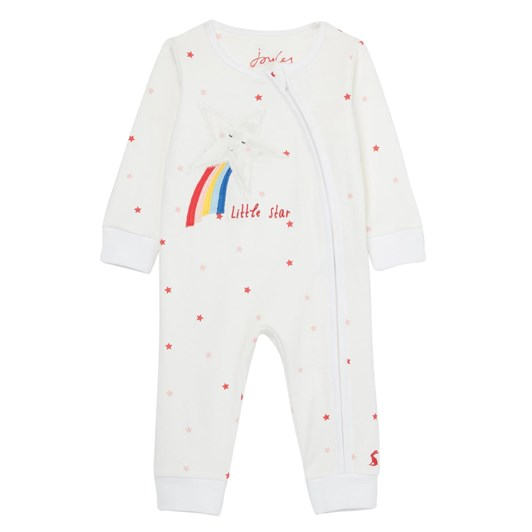 Joules Winfield White Little Star Romper