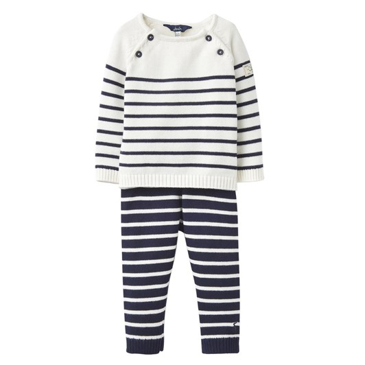 Joules George Cream Navy Clothing Set