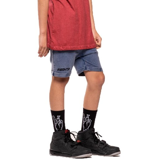 Band of Boys Bandits Vintage Blue Relaxed Shorts 3-7Y