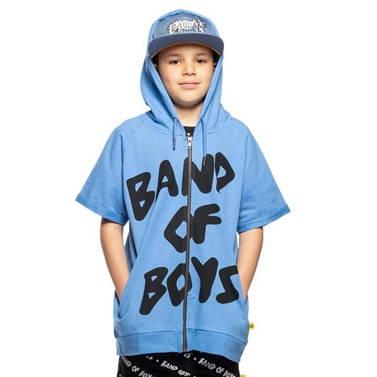 Band of Boys Logo Short Sleeve Hood 3-7Y