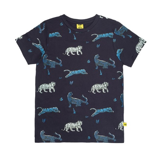Band of Boys Cat Party Straight Hem Tee 3-7Y