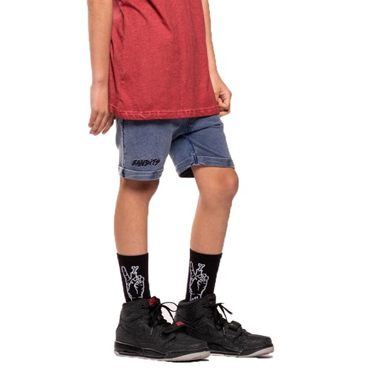 Band of Boys Bandits Vintage Blue Relaxed Shorts 8-10Y