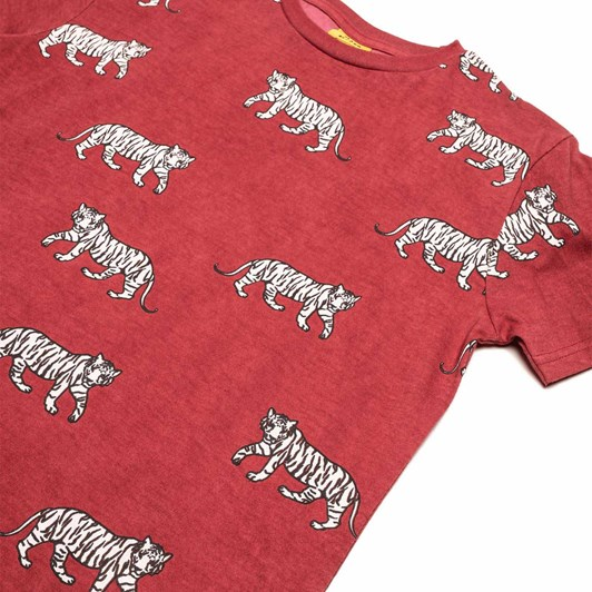 Band of Boys Cool Cats Repeat Oversize Tee 8-10Y