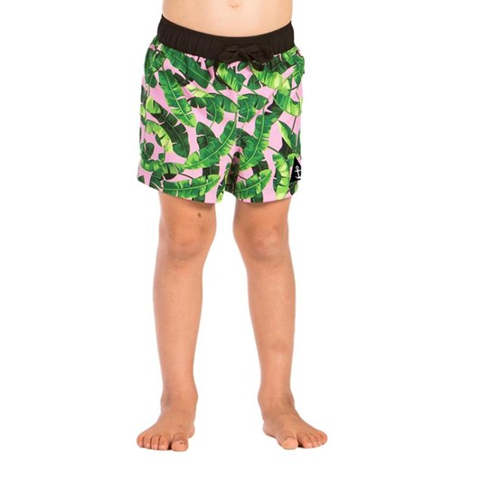 Hello Stranger Banana Leaf Boardshort 8-12Y