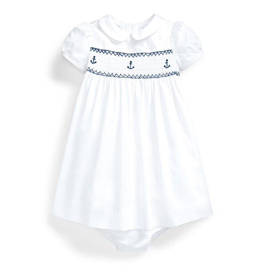 Polo Ralph Lauren Smocked Corduroy Dress