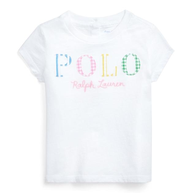 Polo Ralph Lauren Polo Logo Cotton Tee - white