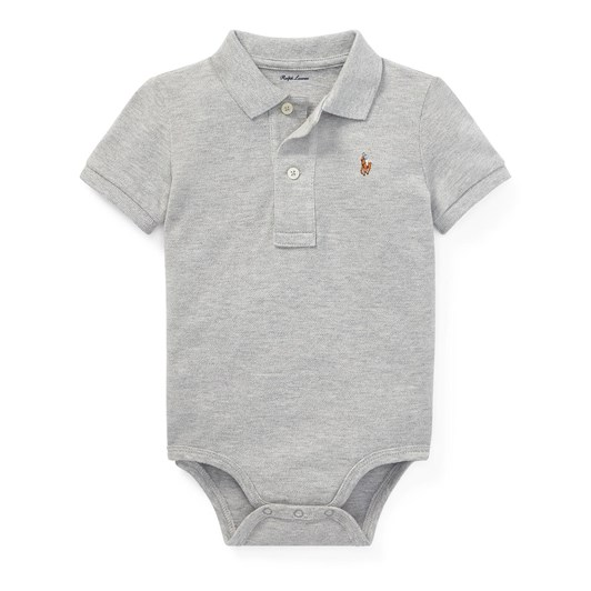 Polo Ralph Lauren Cotton Mesh Polo Bodysuit
