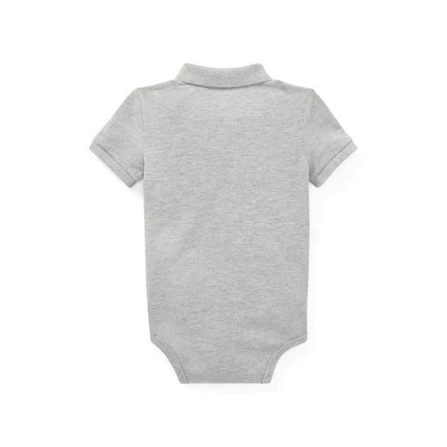 Polo Ralph Lauren Cotton Mesh Polo Bodysuit - andover heather