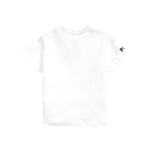 Polo Ralph Lauren Flag Bear Cotton Jersey Tee - white