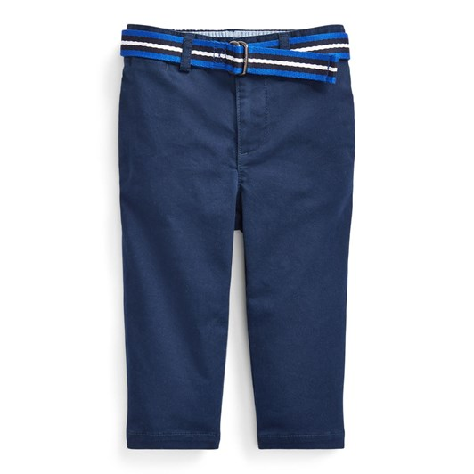 Polo Ralph Lauren Belted Stretch Cotton Chino